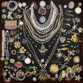 Vintage Costume Jewelry & Watches