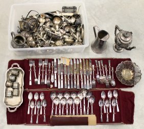 Antique Silverplate Collection