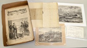 Antique Documents & Etchings