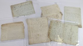 19th Century European Letters