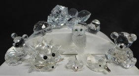 Swarovski And Crystal Figurines