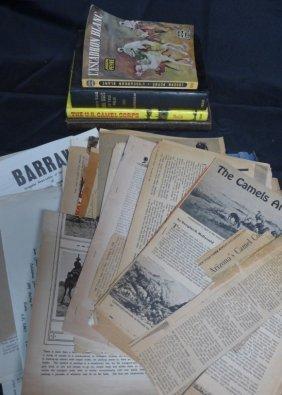 Camel Corps Books And Ephemera