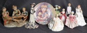 Collectible Porcelain/ Bisque Figurines