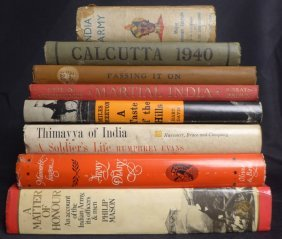 Vintage Books On The Military In India