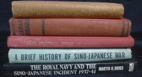 Assorted Military Books On Sino-japanese