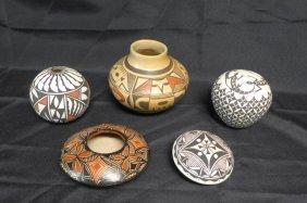 Signed New Mexico Pottery, Acoma Pottery