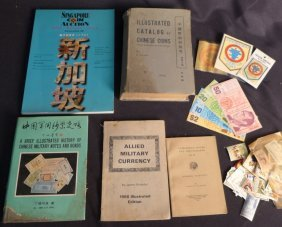 Assorted Currency Related Books And More