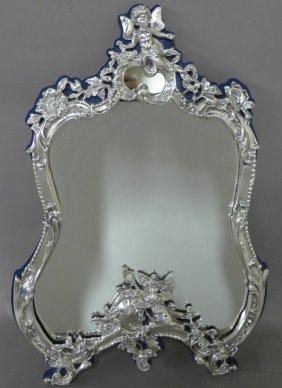 Sterling Sliver Rococo Mirror