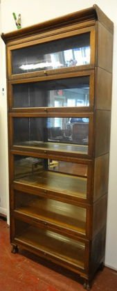 Grand Rapids 6 Stack Barrister Bookcase Lot 1053