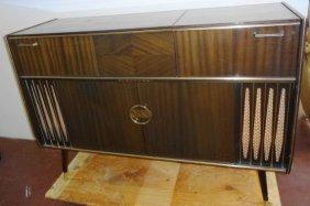 Mid Century Blaupunkt Venezia Stereo Console Bar Lot 1031b