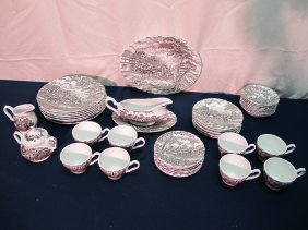 Ironstone China Service For 6