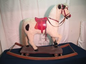 Rocking Horse - Hand Carved (carousel Style)