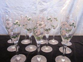 Perrier Jouet Vintage Champagne Flutes