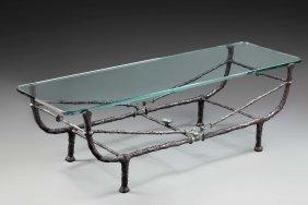 Diego GIACOMETTI (Swiss, 1902-1985) Table Berceau, Seco