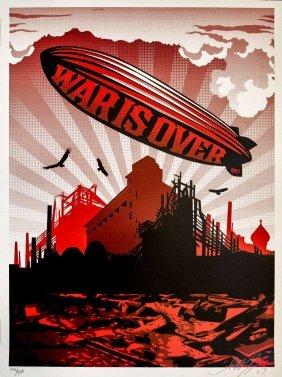 Shepard Fairey (b. 1970); War Is Over, 2007