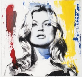 Mr. Brainwash (b. 1966); Kate Moss, 2013