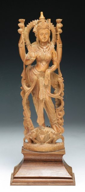 An Indian Antique Wood Figure