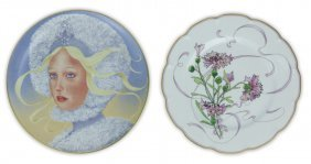 Two (2) Limited Edition Porcelain Plates