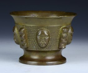 A Chinese Antique Bronze Cup