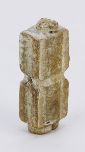 A Chinese Antique Archaic Jade Carving