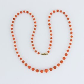 An Agate & Pearl Necklace