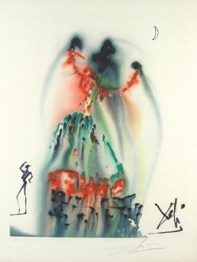 SALVADOR DALI (1904-1989) SPANISH - LIMITED EDITION