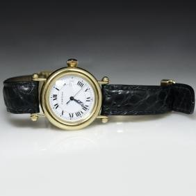 Cartier Diabolo 18kt Gold Ladies Watch