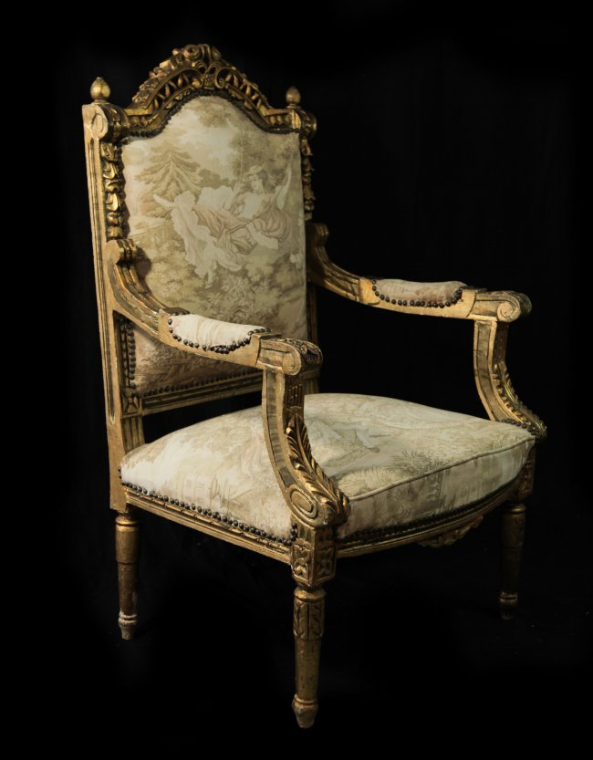 Chair french louis xv style chair wooden dining chair louis arm chair - Louis Xv Style Three Piece Sofa Set Lot 247