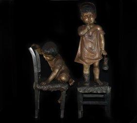 Bronzes By Juan Clara(spain 1875 - 1958)
