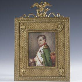 """Eugene Padilla Y. Lucas (1824-1870) """"napolean"""" Plaque"""
