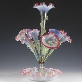 Fenton GlassÊfloral Vase