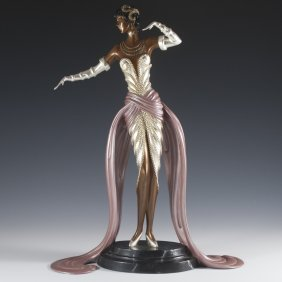 "Erte' ""bella Of The Ball"" Bronze"