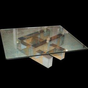 Paul Evans (usa,1931-1987) Coffee Table