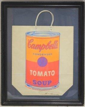 Andy Warhol (american 1928-1987), Shopping Bag,