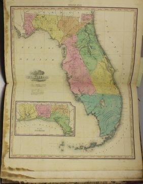 Rare Bound Atlas, Henry Schenck Tanner, Titled