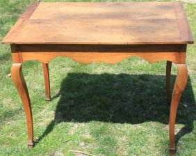 18th C French Lift-top Writing Desk, Fruitwood,