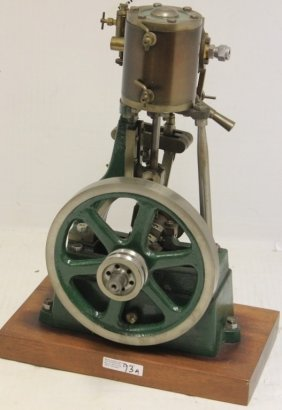 Working Model Steam Engine, Mid 20th C, Brass