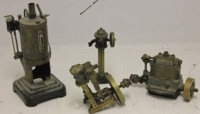 4 Steam Model Items To Include A Tank, 2 Engines