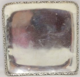 Mexican Sterling Silver Tray, Signed Cls,
