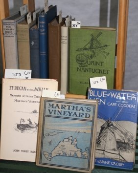 Lot Of 10 Books To Include 1. Quaint Nantucket,