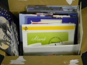 Over 100 Scandinavia Post Office Year Folders With