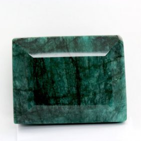 1649.3ctw Big Emerald Gemstone, APPR. CERT. $49470