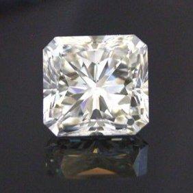 GIA 1.04 Ctw Certified Radiant Diamond F,VVS2