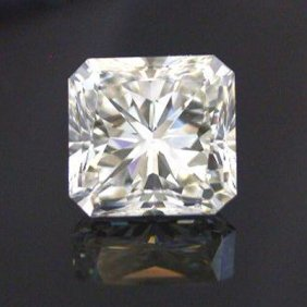 GIA 1.01 Ctw Certified Radiant Diamond D,VS2
