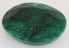 Big Emerald Beryl 1019.50ctw Loose Gemstone Oval Cut