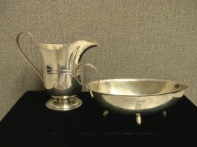 (2) Pieces Of Sterling Silver Tableware