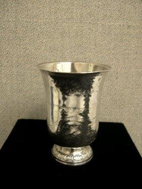 French Silver Beaker, Inverted Bell-shape