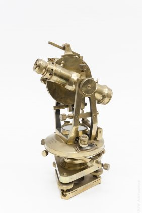 T. Cooke & Sons Brass Theodolite.