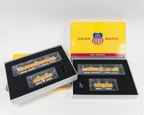 (2) Athearn Union Pacific Train Sets.