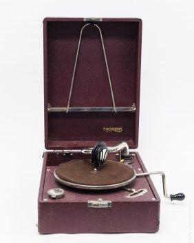 Thorens Portable Suitcase Style Gramaphone.